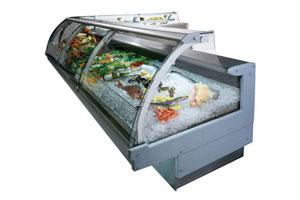 Выкладка рыбы на льду особенности